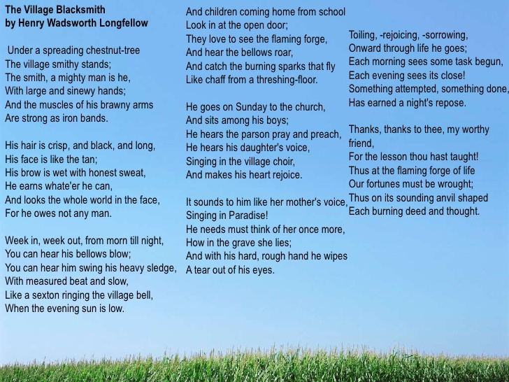 poems and analysis henry wadsworth longfellow in this poem i think of when you would have a fire outside of your house and you sit there and talk while watching the fire and making smores when you re